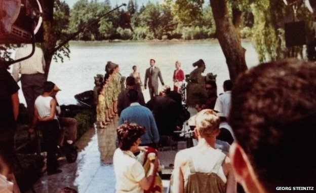 Filming The Sound of Music