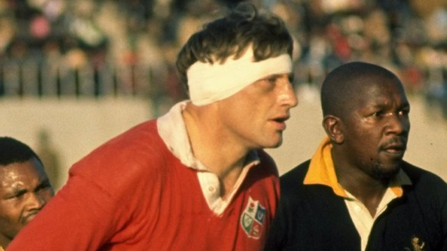 Willie John McBride captained the Lions in 1974