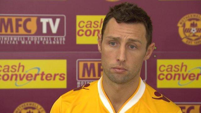 Motherwell striker Scott McDonald