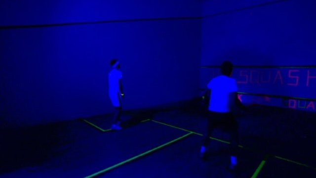 BBC Get Inspired - UV squash
