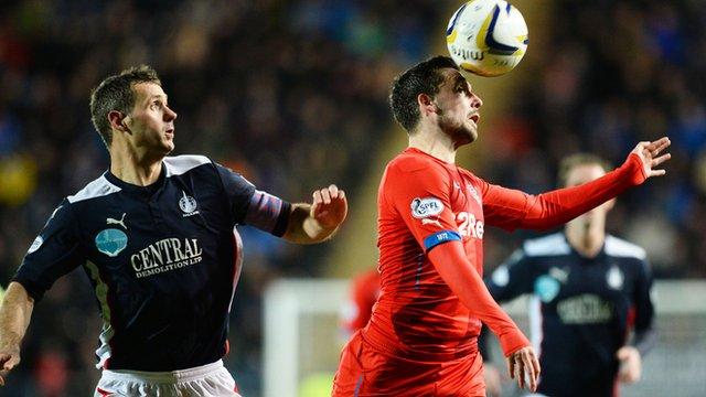 Falkirk equalised two minutes after Rangers' opener