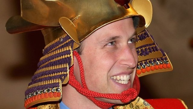 Prince William in Japan