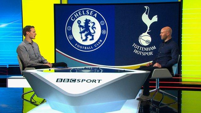 Dan Walker and ex-England defender Danny Mills discuss the League Cup final