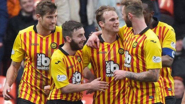 Highlights - Dundee United 0-2 Partick Thistle