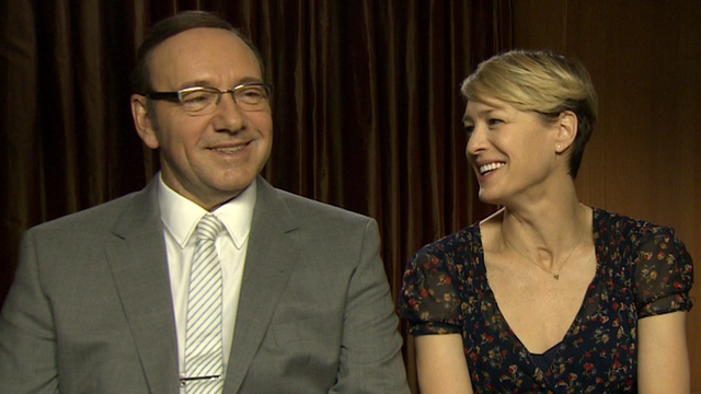 Kevin Spacey and Robin Wright Video