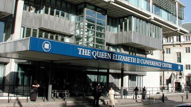 Queen Elizabeth II Conference Centre in Westminster