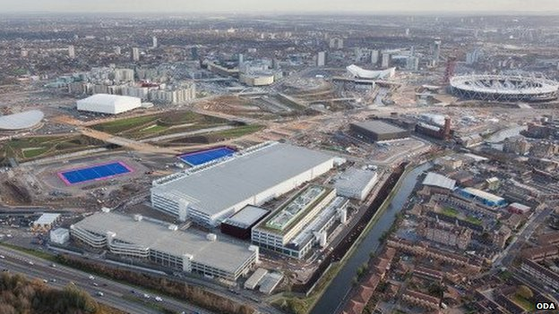 International Broadcast Centre in the Olympic Park