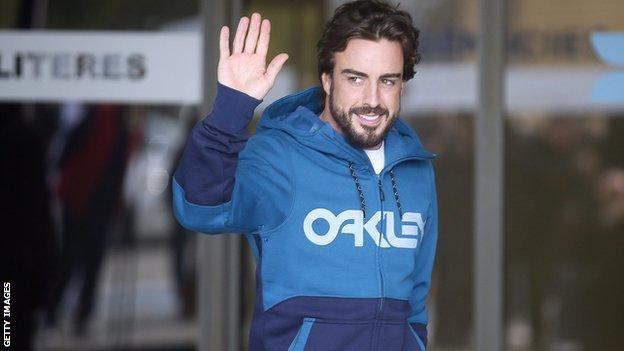 BBC Sport - Fernando Alonso: McLaren driver to miss Australian Grand Prix