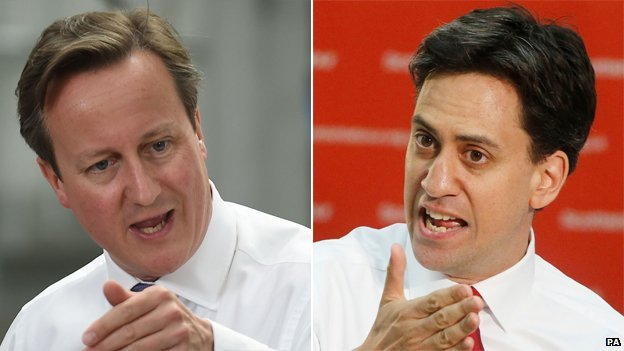 David Cameron and Ed Miliband