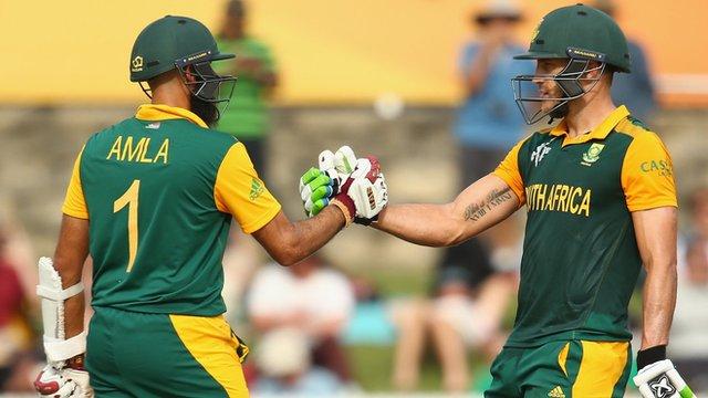 Hashim Amla and Faf du Plessis