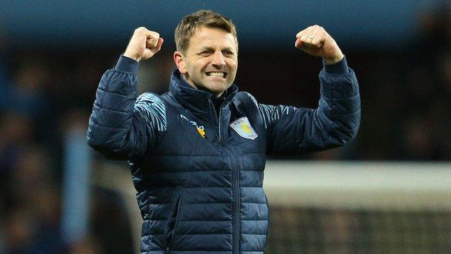 Aston Villa's Tim Sherwood