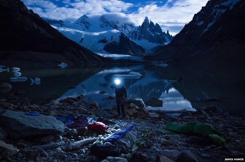 Camp site in Patagonia