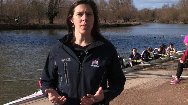 Former rower Annie Vernon