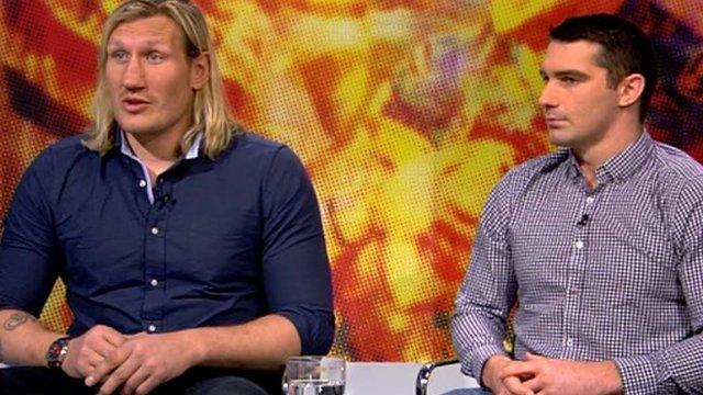 Eorl Crabtree (l) and Matty Smith
