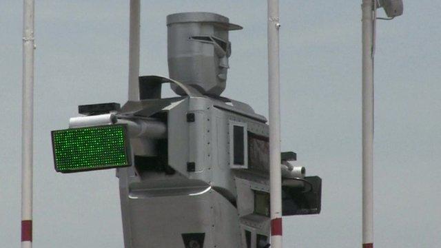 robot traffic cop
