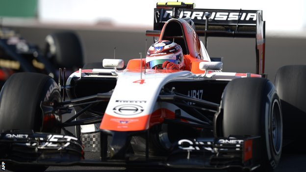 BBC Sport - Manor Marussia announce Roberto Merhi as second driver