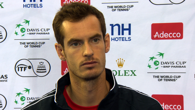Davis Cup 2015: Murray expects 'great' Davis Cup atmosphere