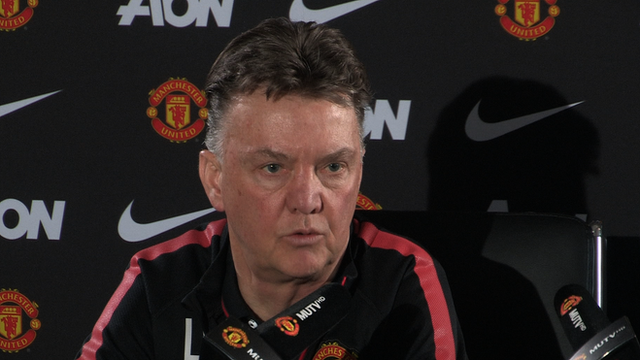 "Manager Louis van Gaal believes it was not the ""intention"" of Manchester United defender Jonny Evans to spit"