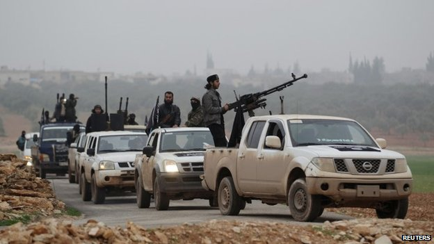 Nusra Front soldiers in the Idlib (December 2014)