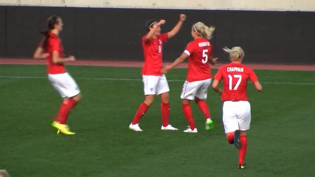 Cyprus Cup: England Jodie Taylor scores against Australia