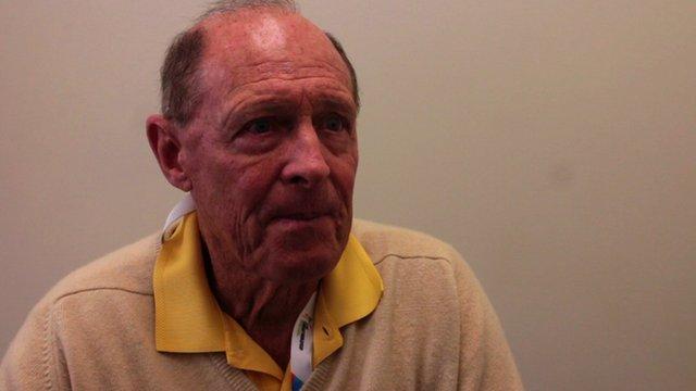 Geoffrey Boycott, former England batsman