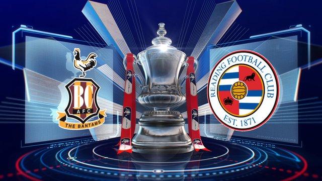 FA Cup: Bradford 0-0 Reading highlights