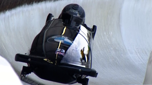 GB bobsleigh team