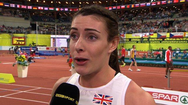 European Indoor Championships: Bundy-Davies wins 400m bronze