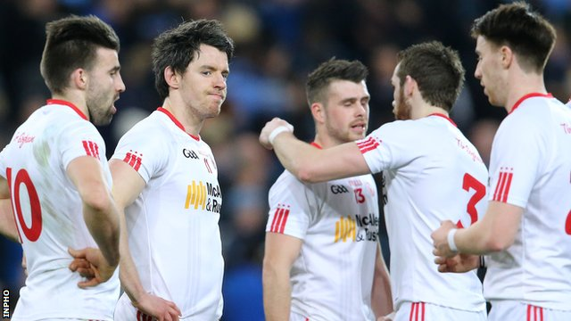 Tyrone were left disappointed with a draw against Dublin