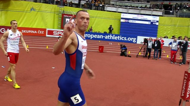 Ujah and Kilty win 60m semi-final