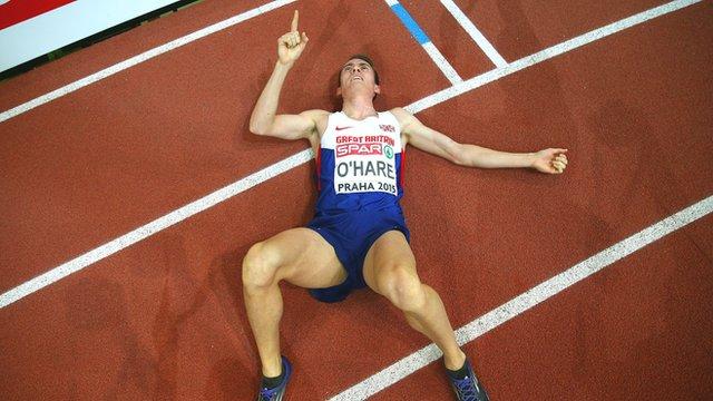 Chris O'Hare takes 1500m bronze