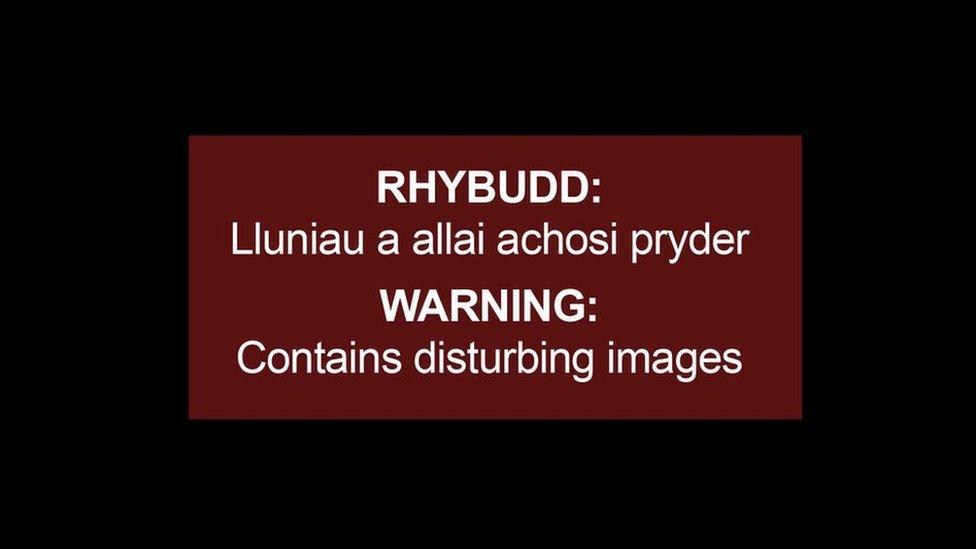 Rhybudd/Warning