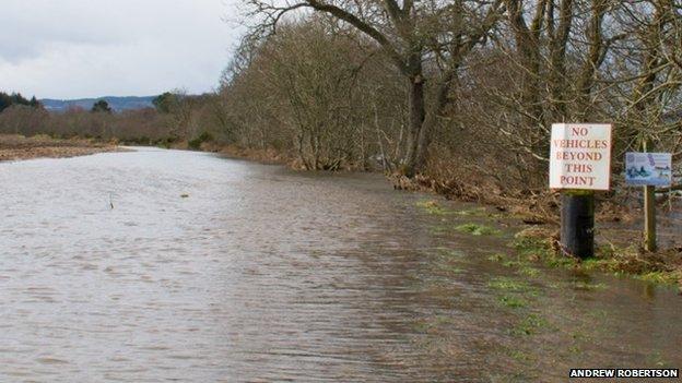 Flooding Maryburgh