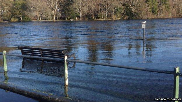 Swollen River Ness