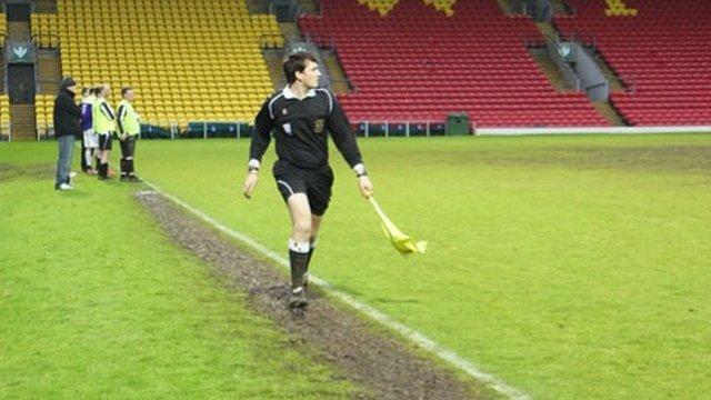 Matt Mesiano in action