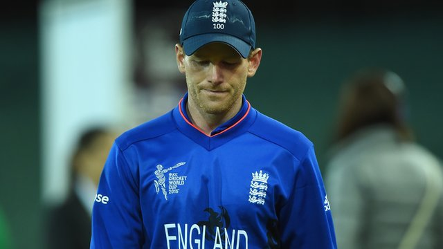 """England captain Eoin Morgan: """"Another example of us not performing"""""""