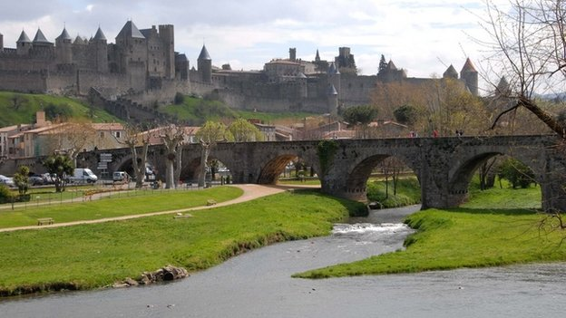 an image of Carcassonne's fortress