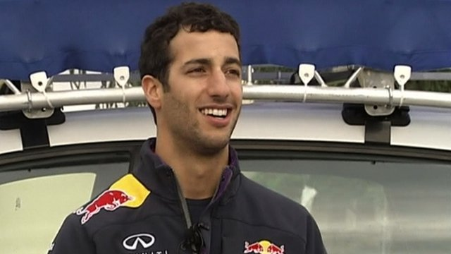 F1: Red Bull Daniel Ricardo