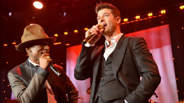 Blurred Lines: Robin Thicke and Pharrell Williams to pay $5m in final verdict
