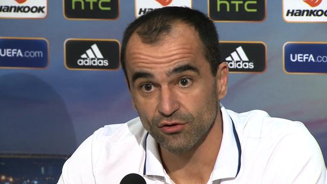 Europa League: Everton manager Roberto Martinez before Dynamo Kiev match