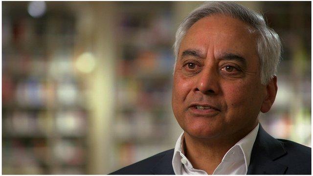 Sam Husain, CEO of Foyles