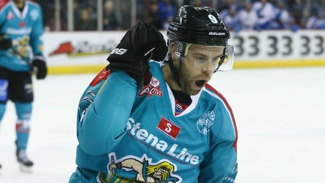 Evan Cheverie of the Belfast Giants