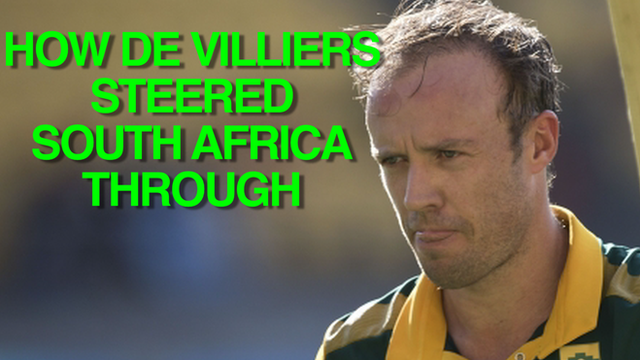 South Africa's win in numbers