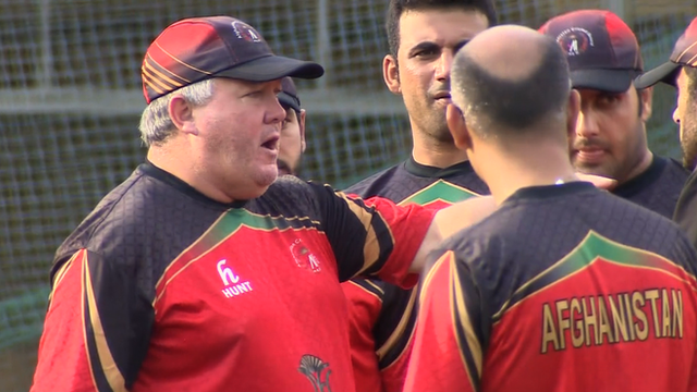 Afghanistan coach Andy Moles