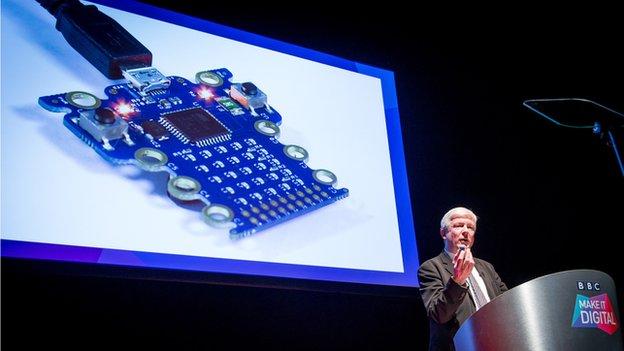 BBC director general Tony Hall launches Make It Digital