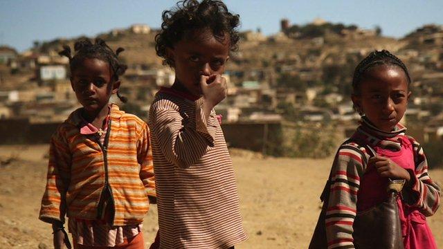 Children in Eritrea