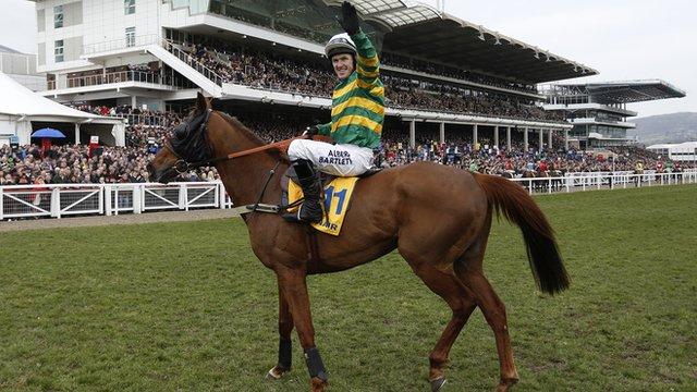 AP McCoy wins at Cheltenham