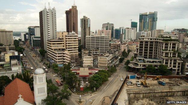 Central Dar es salaam, 2014