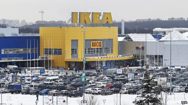 Ikea store in Moscow, Russia. Photo: February 2015