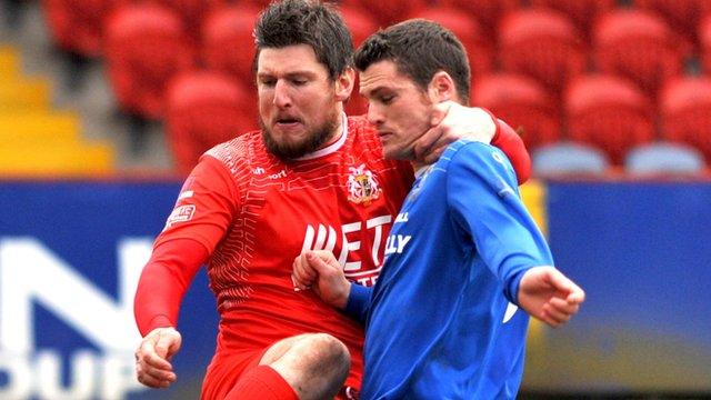 Portadown drew 1-1 with Dungannon Swifts at Shamrock Park